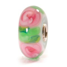 Rose Glass Bead - 2 available