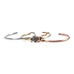 Trollbeads Mixed Metal Stackable Bangles