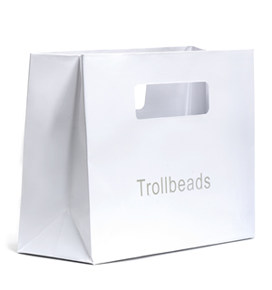 Trollbeads White Gift Bag