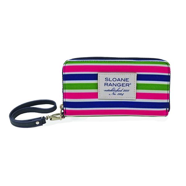Sloane Ranger Sloanie Stripe Smartphone Wallet