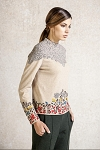 Ivko Pullover Charmed Forest, Beige