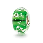 Diamond Bead Emerald Green - 2 available