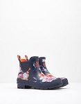 Wellibob - Ankle Height Navy Rose