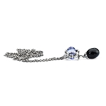 Trollbeads Magic Bow Lavender Necklace