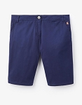 Joules Rylee Mid Length Short-Blue