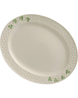 Shamrock Oval Platter (2 sizes) -1 each available