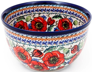 BELLISSIMA 9-Cup Stoneware Mixing Bowl