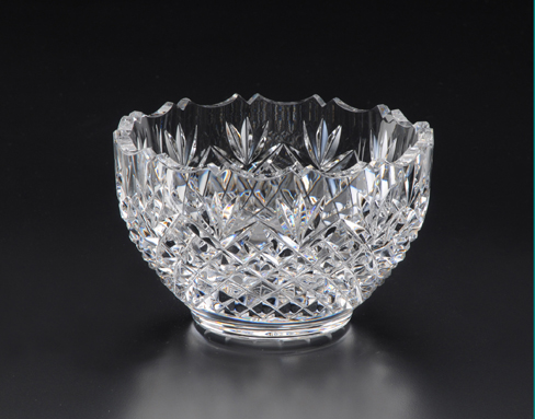 Heritage Glass Blackthorn Lead Crystal Bowl 5