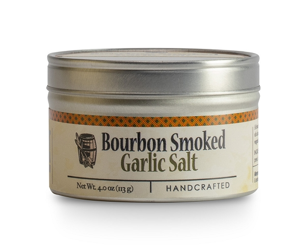 Bourbon Barrel Bourbon Smoked Garlic Sea Salt