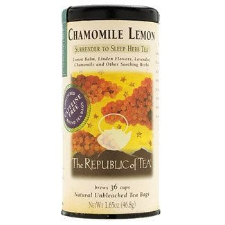 Chamomile Lemon Herbal Teabag
