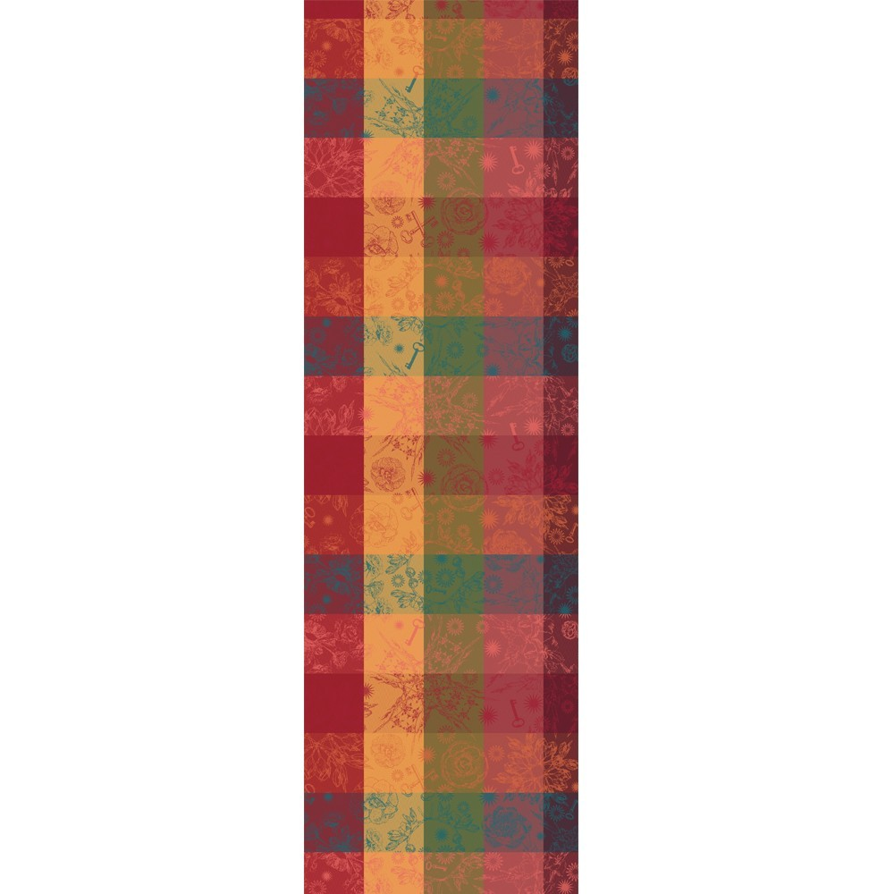 Mille Alcees Litchi Table Runner, 22