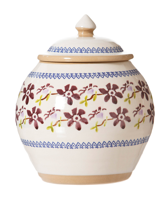 Clematis Cookie Jar