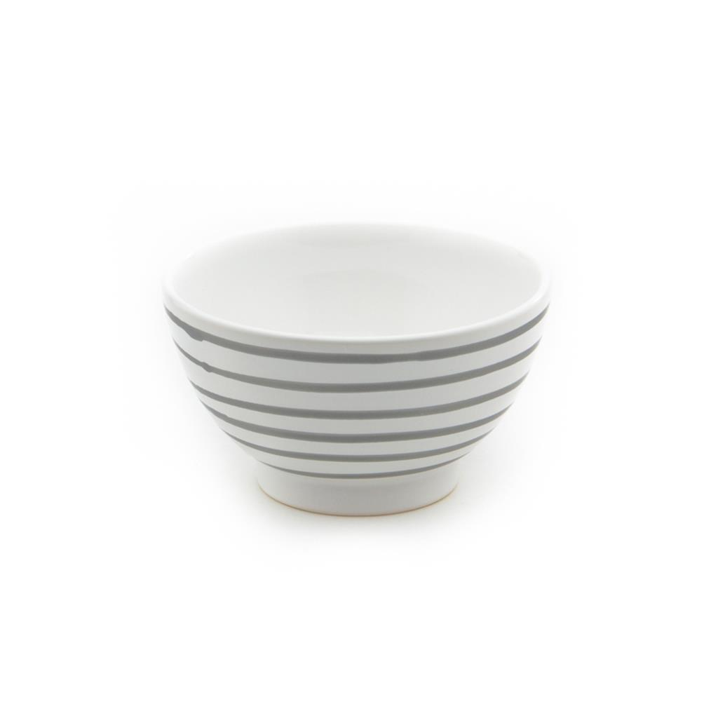 Dizzy Grey Coupe Cereal Bowl 5.5
