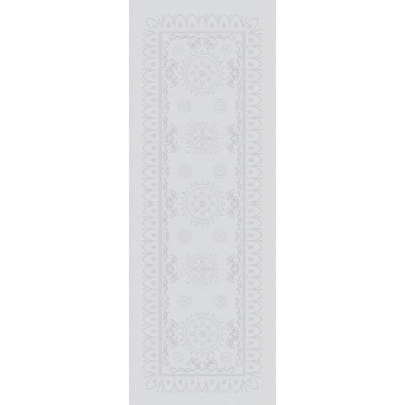 Eloise Diamant Table Runner  , 100% Cotton, Green Sweet