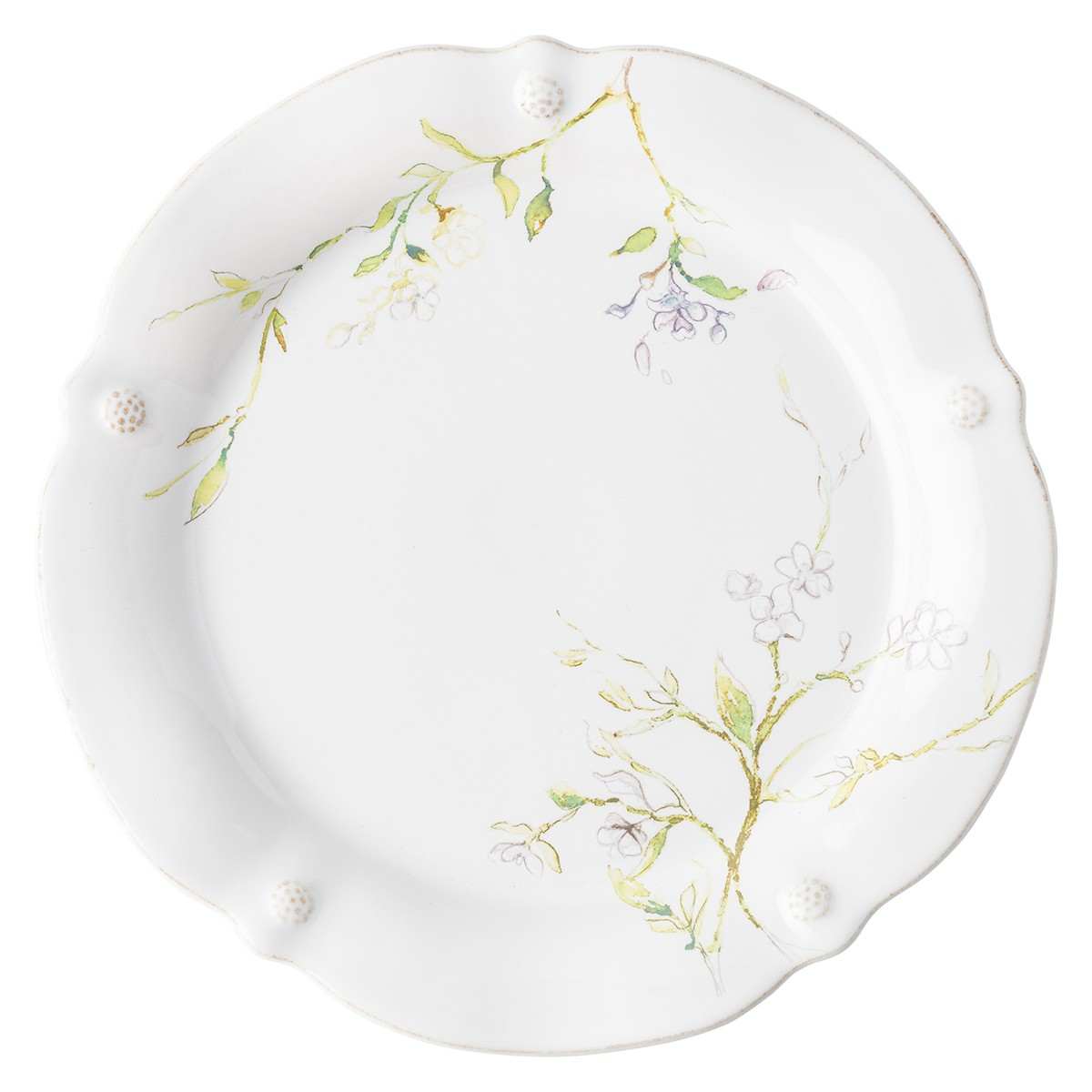 Berry & Thread Floral Sketch Jasmine Dinner Plate