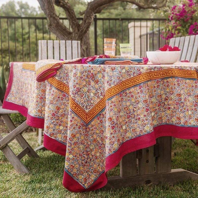 Autumn Bouquet French Tablecloth