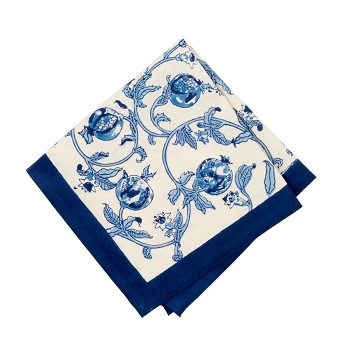 Granada Napkins Blue, Set of 6
