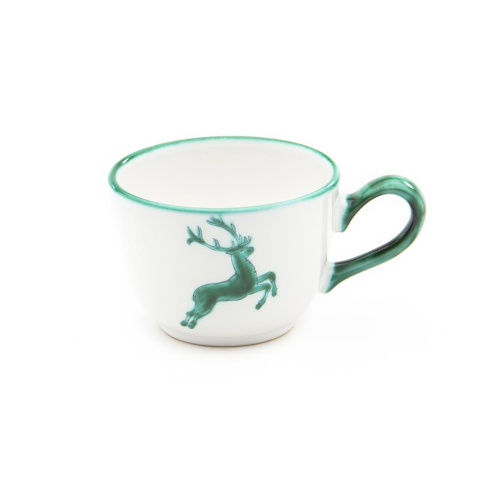Green Deer Classic Coupe Coffee Cup and Saucer