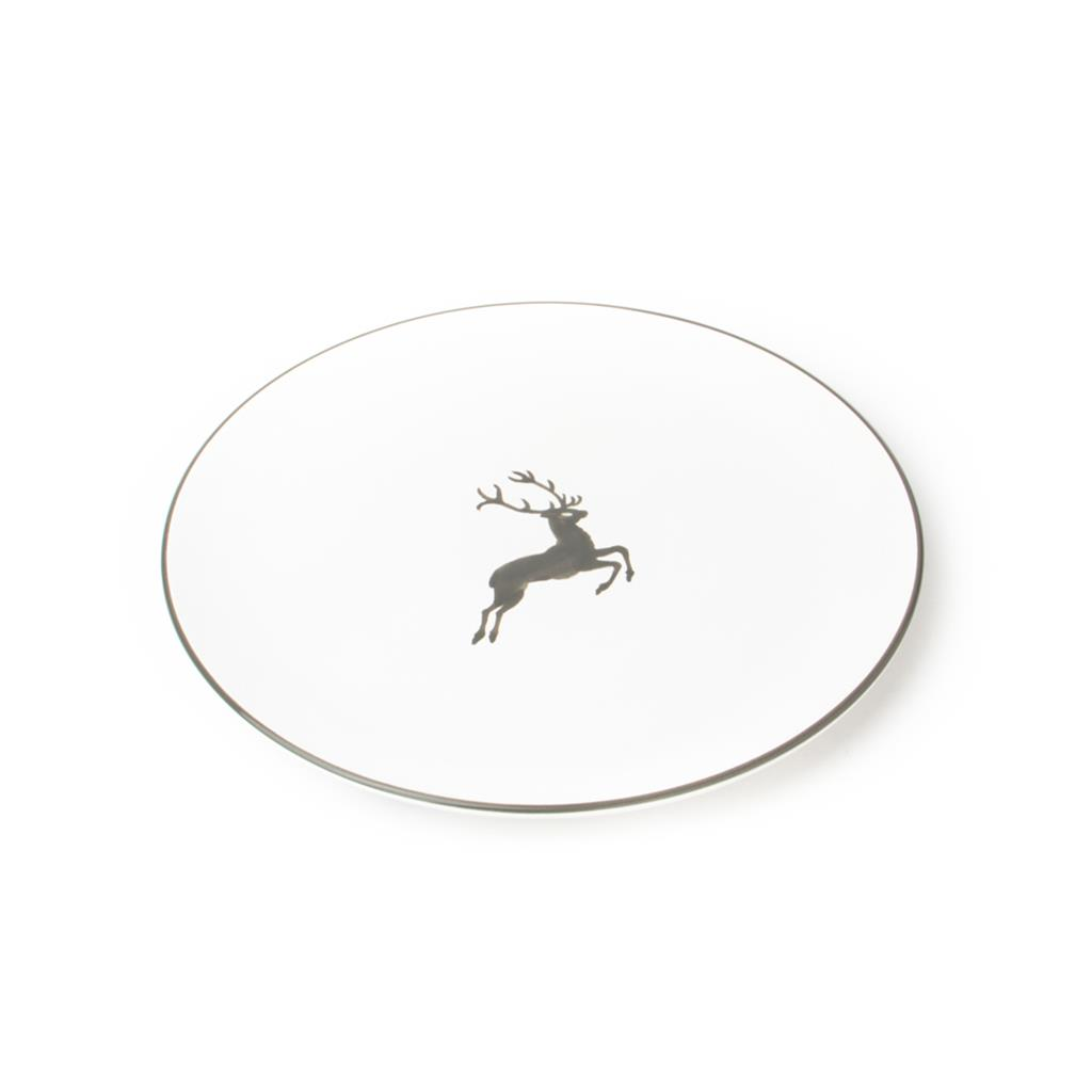 Grey Deer Charger Plate