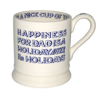 Happiness DAD 1/2 Pint Mug Retired-11 available