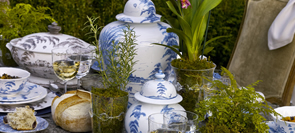 Country Estate Delft Blue