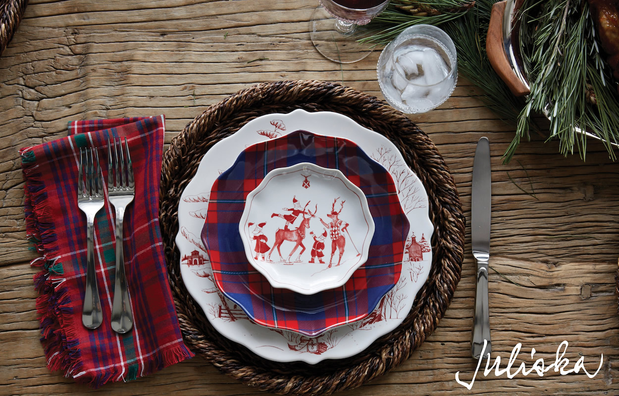 Juliska Holiday-Country Estate, Tartan