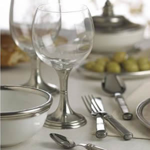 Pewter & Glass Collections