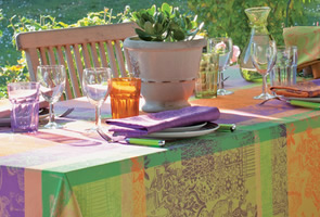 Garnier Thiebaut Tablecloth Selections