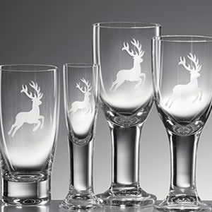 Etched Glassware on Sale