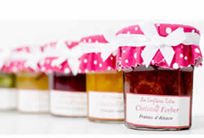 Handmade French  Jams