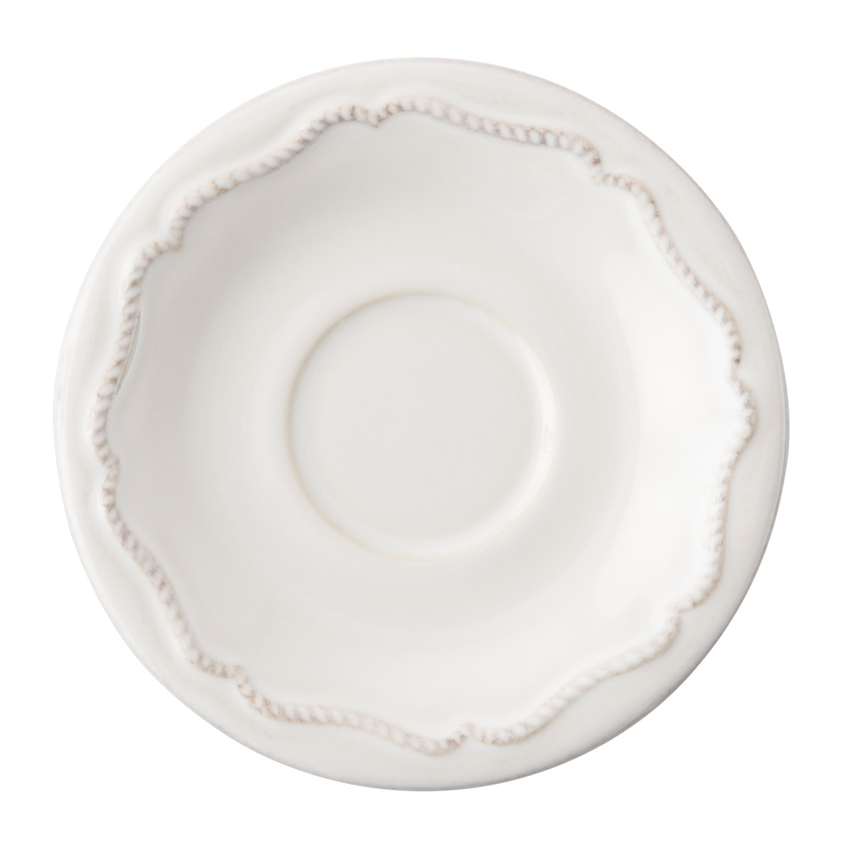 Berry & Thread Whitewash  Demitasse Saucer -3 available