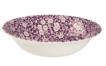 Mulberry Calico Soup/Pudding Bowl