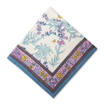 Papillon Blue Napkin set/6