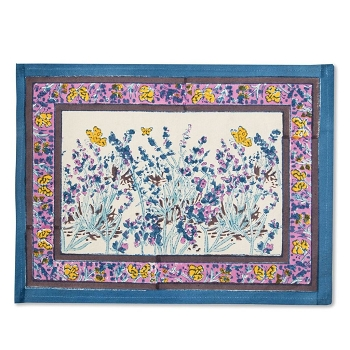 Papillon Blue Placemats Set/6