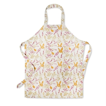 Papillon Rose French Apron