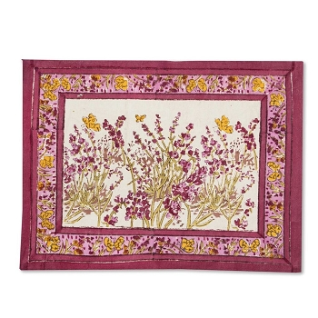 Papillon Rose Placemats Set/6