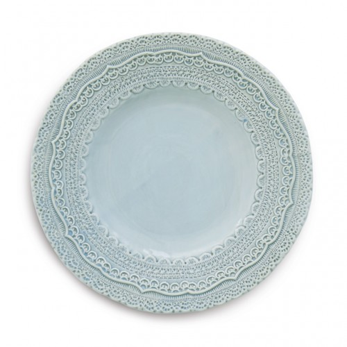 Finezza Blue Salad/Dessert Plate RETIRED- 1 available