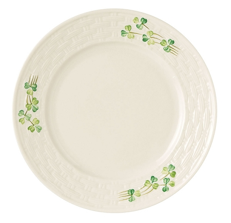 Shamrock Salad Plate -6 available