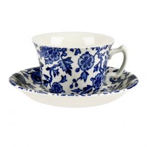Blue Arden Teacup And Saucer
