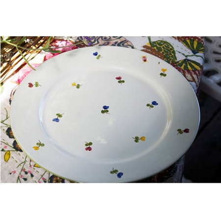 Faienceries d'Art de Malicorne Mille Fleurs Presentation Plate (Retired 8 remaining)