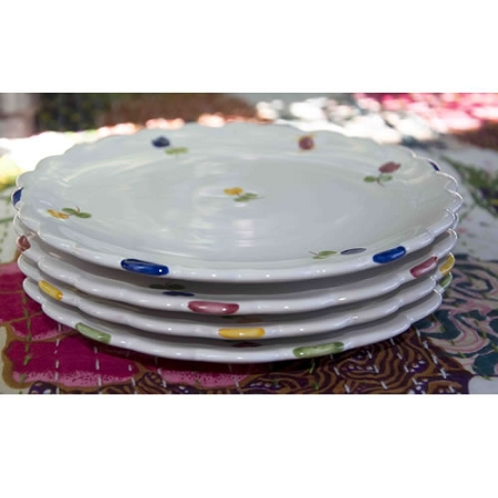 Faienceries d'Art de Malicorne Mille Fleurs Lunch Plate
