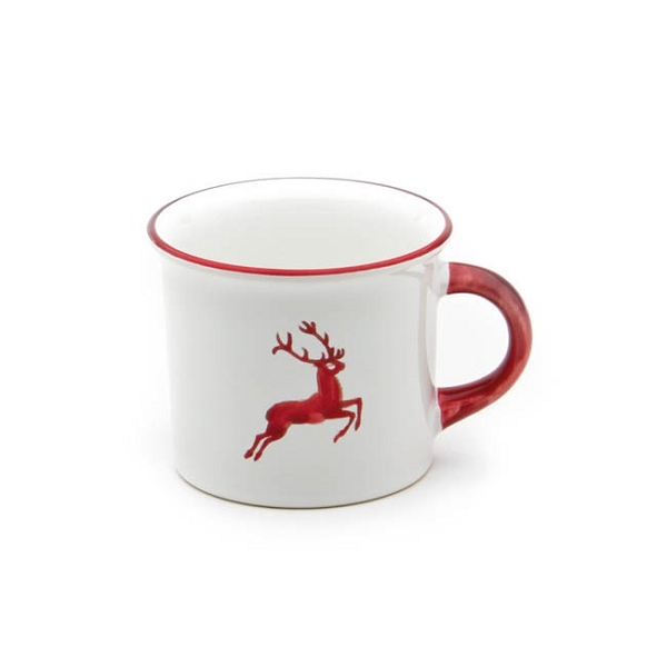 Ruby Red Deer Mug 8 oz