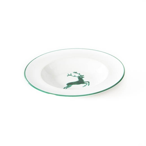 Green Deer Gourmet Soup Plate 9.4''