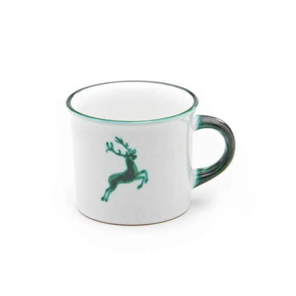 Green Deer Classic Coupe Coffee Mug