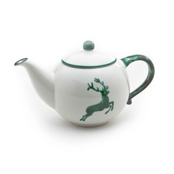 Green Deer Teapot 50.7 oz