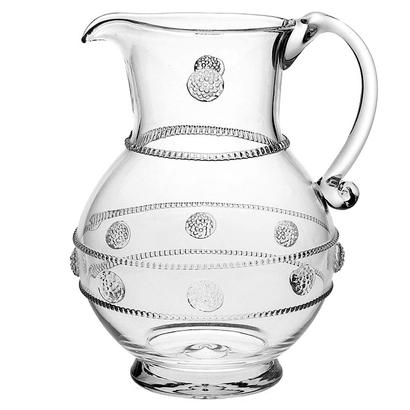 Isabella Lg Pitcher Clear