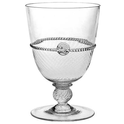 Graham Footed Goblet Clear