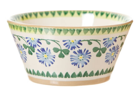Clover Small Angled Bowl