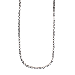 Medium Rolo Chain Sterling Silver