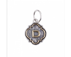Quatrefoil Insignia Sterling Silver and Brass